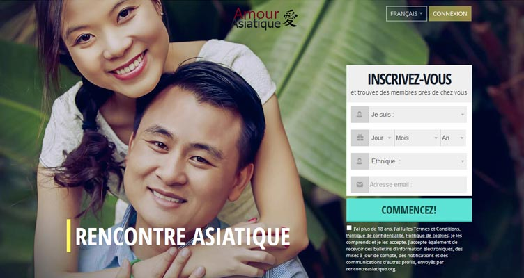 Asiatique amour rencontres site