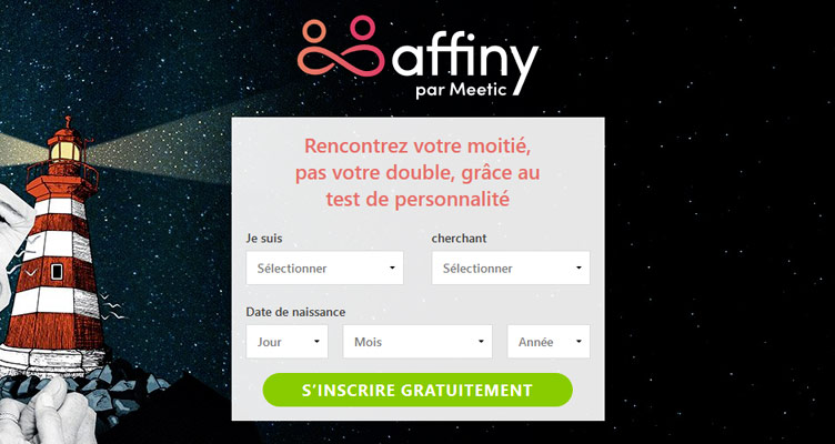 Affiny par Meetic
